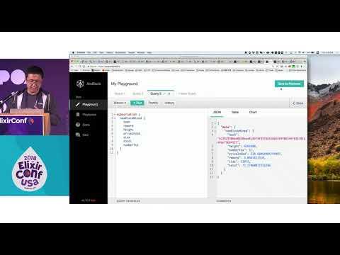 ElixirConf 2018 - Use goldorin to build absinthe ecto enabled GraphQL APIs - Tian Chen