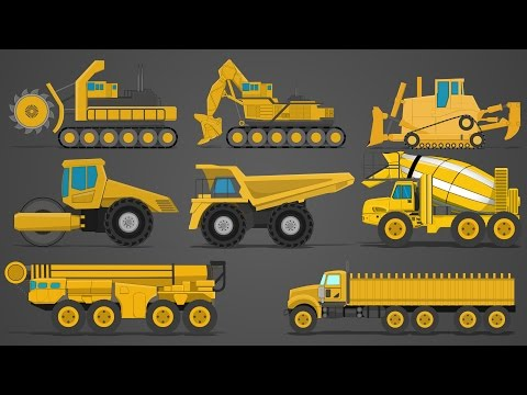 Giant Vehicle | Vehicles Series | Kids Children
