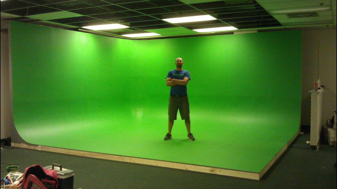 How to Build a Green Screen #1