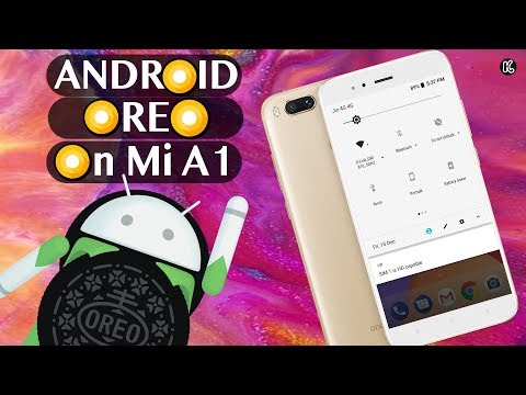 Xiaomi Mi A1- Android 8.0 Oreo Quick Look || What's New ?