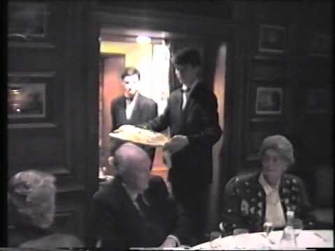 Clive jacob 39 s birthday luncheon 1992 at au jardin des for Au jardin des gourmets