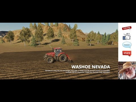 JD EP 204 Washoe Nevada Map With Area 51 Crop Circles Gold Mine And More Nice Theme