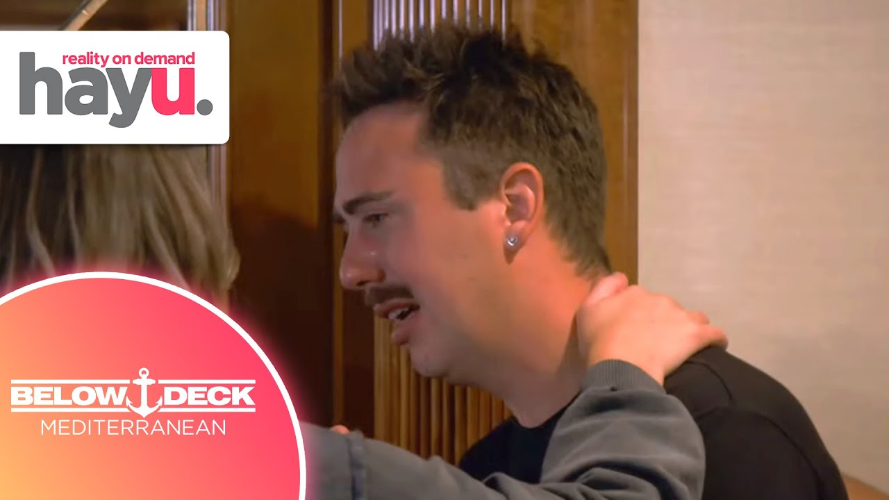 Lloyd Opens Up About His Sexuality | Season 6 | Below Deck Mediterranean