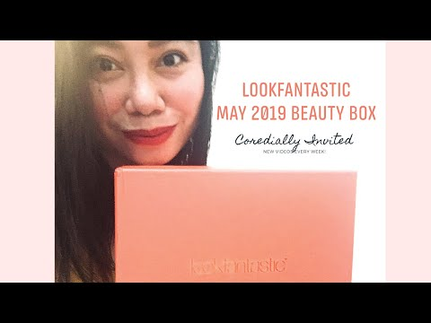 LookFantastic May 2019 Beauty Subscription Unboxing