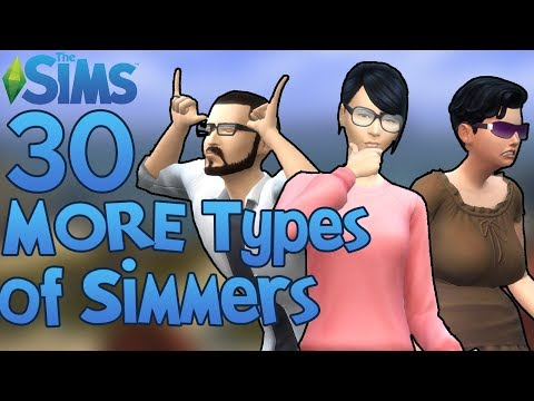 The Sims: 30 MORE Types of The Sims Players! thumbnail