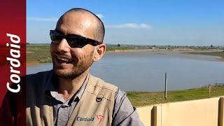 Drinkwaterinstallatie in Wardek, Noord-Irak