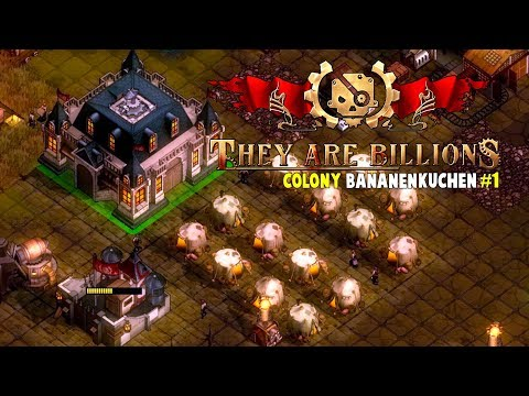 Colony BananenKuchen #1 on 100% | They Are Billions Let's Play Gameplay PC | E02