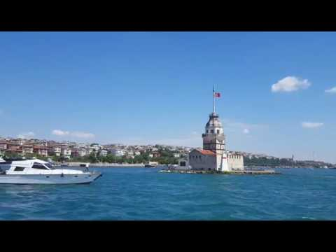 Maiden's tower Istanbul Turkey.
