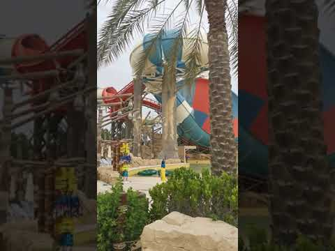 Huge water ride, Yas Waterworld Abu Dhabi, waterpark in Arabic style | #shorts #Youtubeshorts (2)