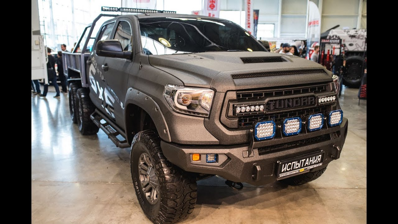 6x6 For Sale Australia >> Toyota Tundra 6x6 & Wild Truck Camper - YouTube