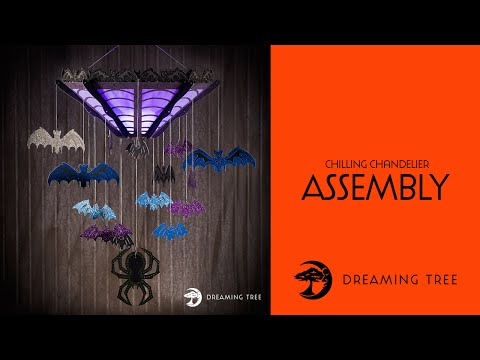 SVG File - Chilling Chandelier - Assembly Tutorial