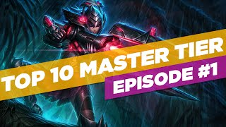 TOP 10 Master Tier Plays Ep #1 | League of Legends