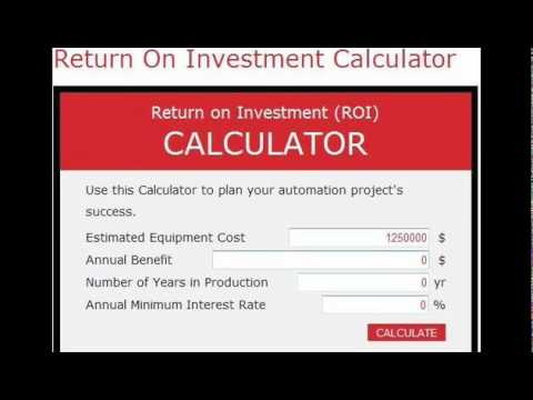 Calculating return on investment on options