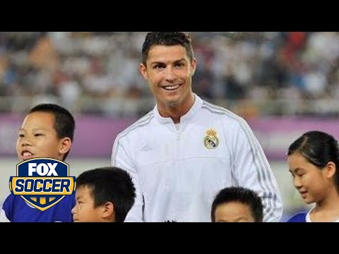 Cristiano Ronaldo is really popular in Asia