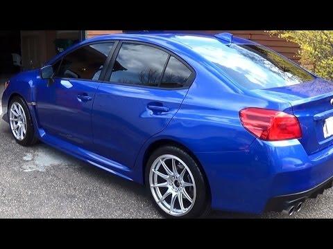 2015 Subaru Wrx Wheel Swap Youtube