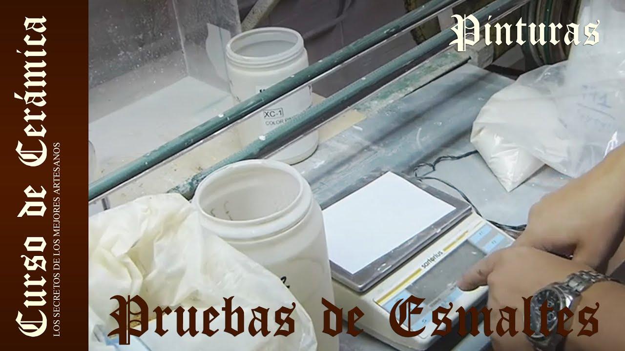 Curso De Cer Mica Pruebas De Esmaltes Y Cristalinas