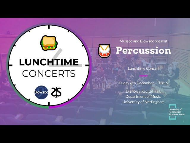 🥁 Percussion LTC (Autumn 2019)