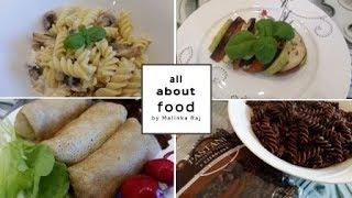 ЧТО ЕСТ НАША СЕМЬЯ? 29 ч. (овощ.запеканка, карт. салат, блинчики с сердцем, коктейль)