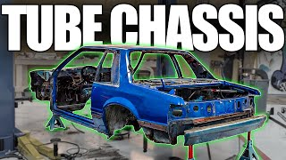 Let's Build a Tube Chassis for the FOXBODY MUSTANG COP CAR