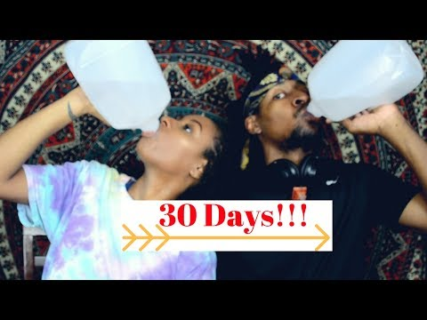 30 Days Of Drinking Distilled Water| Vlog Day 1!