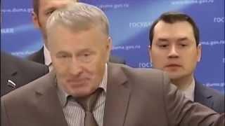 """ЖИРИНОВСКИЙ ПРАВИЛЬНО СКАЗАЛ """"НА УКРАИНЕ"""", а не """"в Украине"""""""