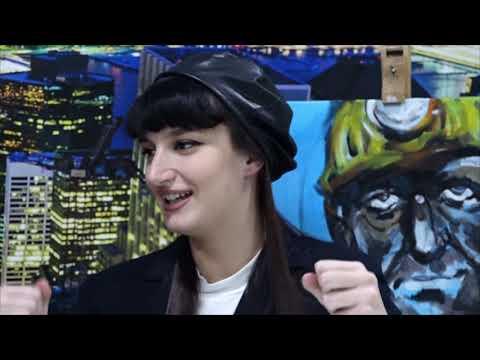 Lejla Zukić - Mlada umjetnica iz Srebrenika - tatabrada.tv