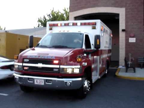 chevy ambulance-Lights & Sirens and Horn.