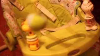 мой видеообзор - качели  graco silhouette(хотелось бы добавить, что на видео столик я не зафиксировала, пока ребенок маленький я его просто кладу,..., 2013-11-23T11:12:51.000Z)