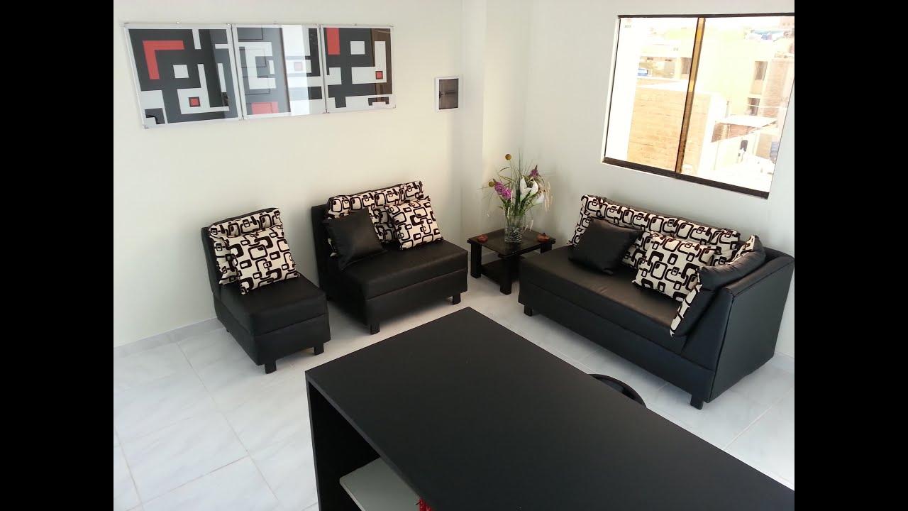 Mini departamento amoblado para alquiler en chiclayo for Decoracion de mini departamentos