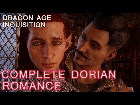 Dragon Age Inquisition: Complete Dorian Romance / Lavellan (All Cutscenes & Background Story)