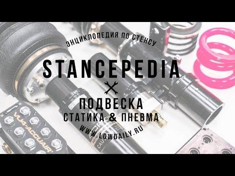 Stancepedia: Часть 2. Подвеска. Пневма или Статика? - Спецвыпуск Lowdaily + КОНКУРС