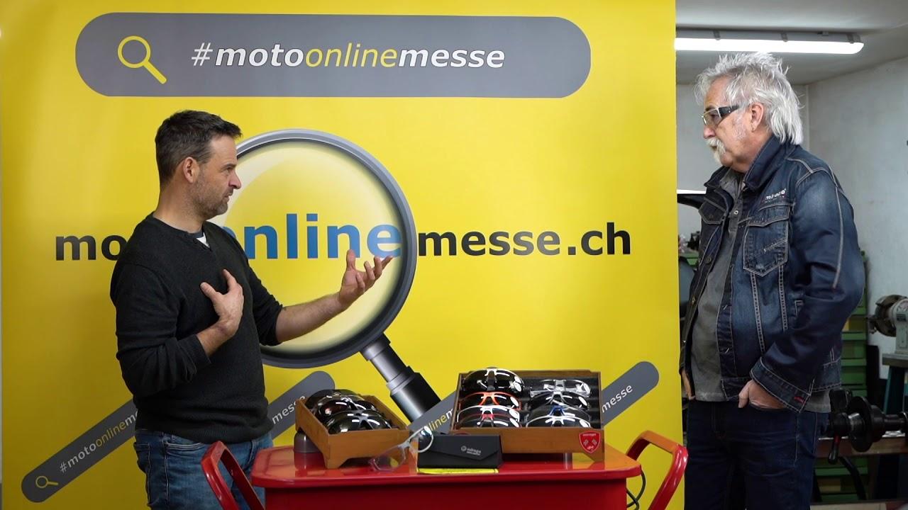 Mira Motorradbrillen: Handmade in Switzerland
