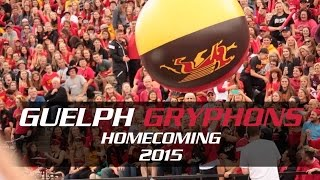 Guelph Gryphons Homecoming 2015