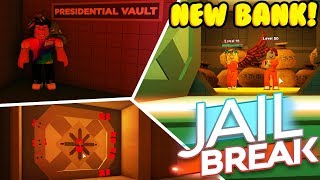HOW TO ROB *NEW* PRESIDENTIAL VAULT BANK IN JAILBREAK! (Roblox)