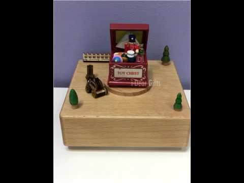 Toy Chest Music Box - i-Dear Gifts