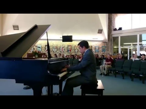 Samuel Barron performing at the 2015 EPSMF Competition for Young Musicians
