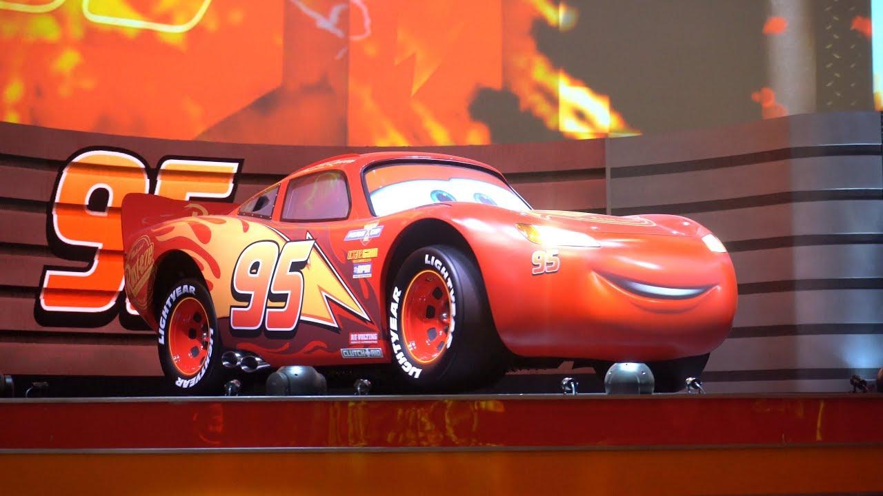 85e617b92365 NEW Full Show - Lightning McQueen s Racing Academy at Disney s Hollywood  Studios