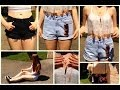 High Waisted Shorts | Summer Outfit Inspirations 2014 ♡