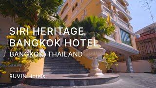 Hotel Siri Heritage Review | Bangkok [2020]
