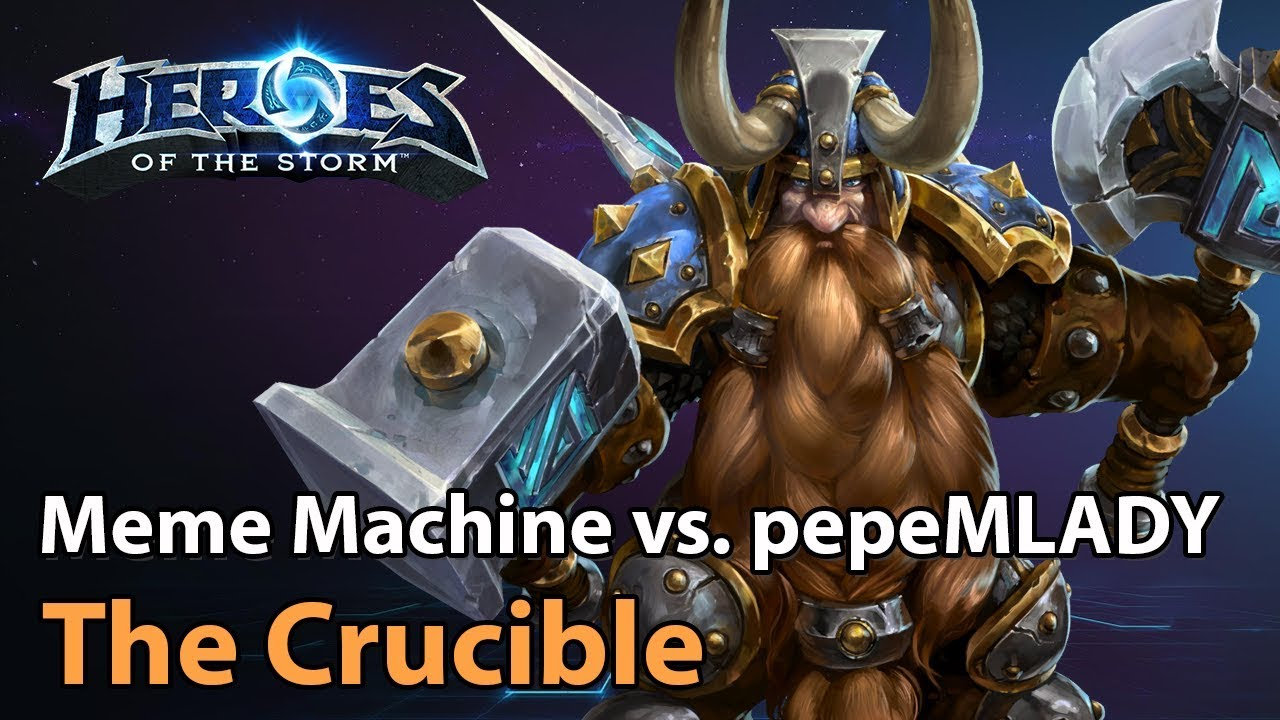 ► Division S Crucible - Meme Machine vs. pepeMLADY - Heroes of the Storm Esports