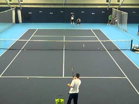 Pre-season tennis training camp at National Tennis Centre