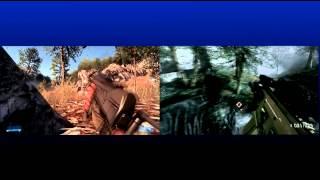 Battlefield 3 Vs Medal of Honor: Warfighter Graphics Comparison (Frostbite 2 Vs Frostbite 2 - 1080p)