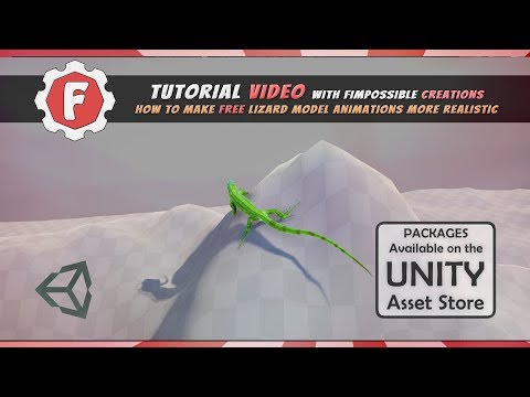 [Unity Tutorial] How to make free Lizard Model animate procedurally with FImpossible Assets thumbnail