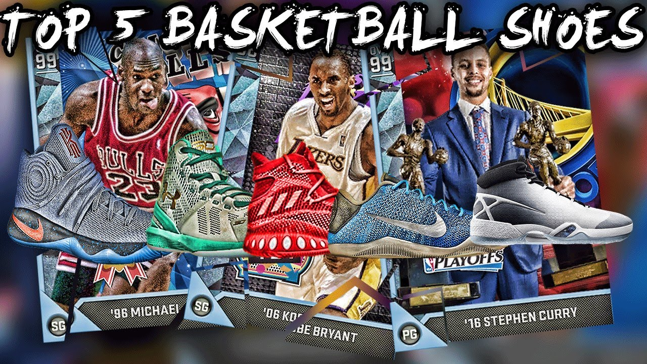 TOP 5 BASKETBALL SHOES 2016! BEST BASKETBALL SHOES TO PLAY IN ...