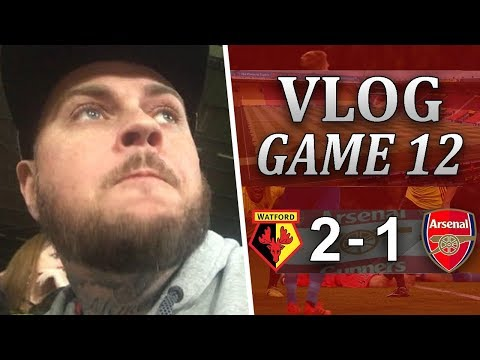 WATFORD 2 v 1 ARSENAL - THIS IS WHY I F**KING MOAN - MATCHDAY VLOG