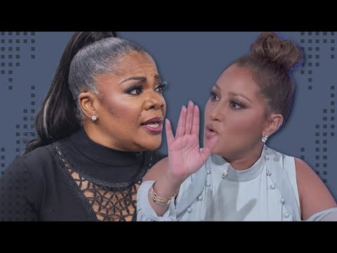 """Monique Responds to Adrienne Bailon's Comments on The Real """"I hope I'm not too loud for you.."""""""