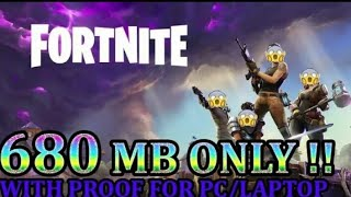 How To Download Fortnite Battle Royal For PC-Laptop !! Highly Compressed !! _HD