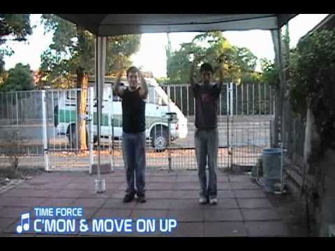 TIME FORCE / C'MON & MOVE ON UP