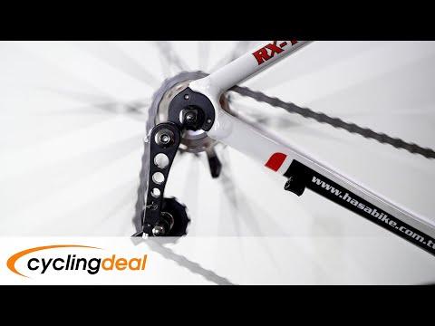 Bike Bicycle MTB Aluminum Chain Tensioner Black