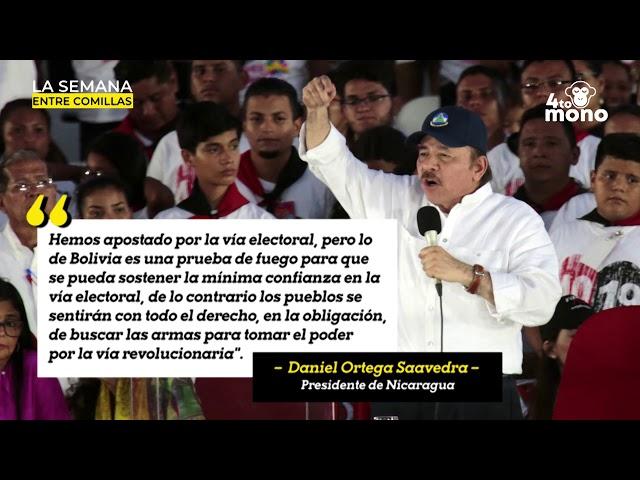 Ortega amenaza con